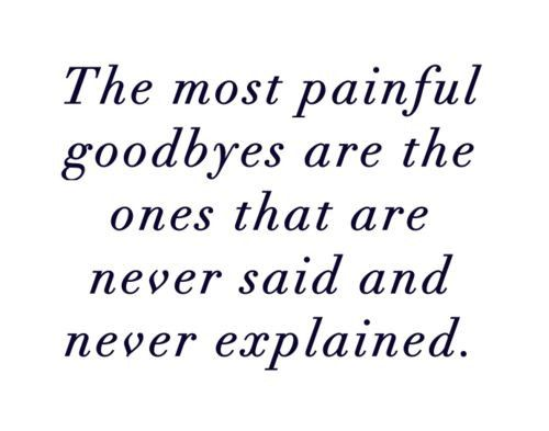 The Most Painful Goodbyes - Donah Love Quotes on Tumblr