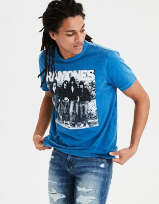 a70912732 AE Ramones Graphic Tee by American Eagle Outfitters | Let your style speak  for itself. Iconic artist and band prints for classic and cool vibes.
