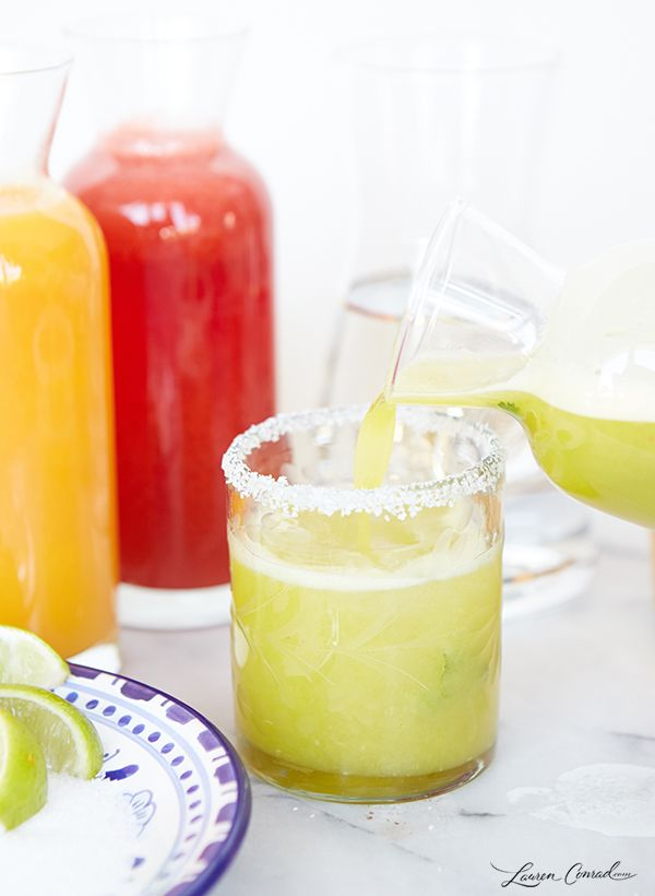We've got the perfect recipes for your next margarita bar!