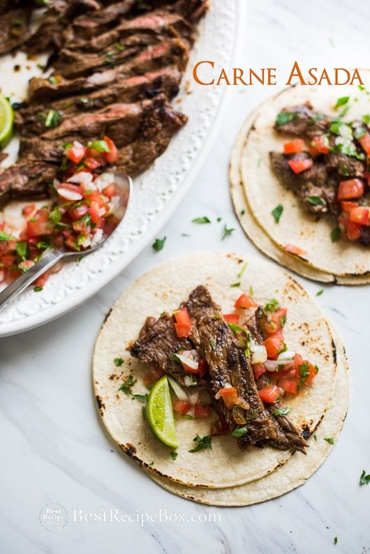 Carne Asada for Tacos, Burritos, Salads and More!