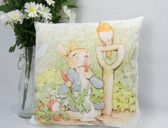 classic peter rabbit nursery baptism baby chair bed pillow