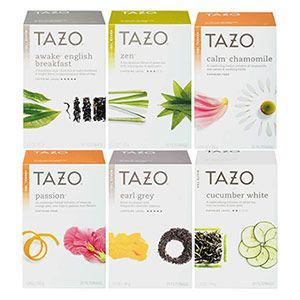 Tazo. My favorites are Passion, Calm Chamomile, Earl Grey, and Cucumber White. AKA almost all of the teas pictures.