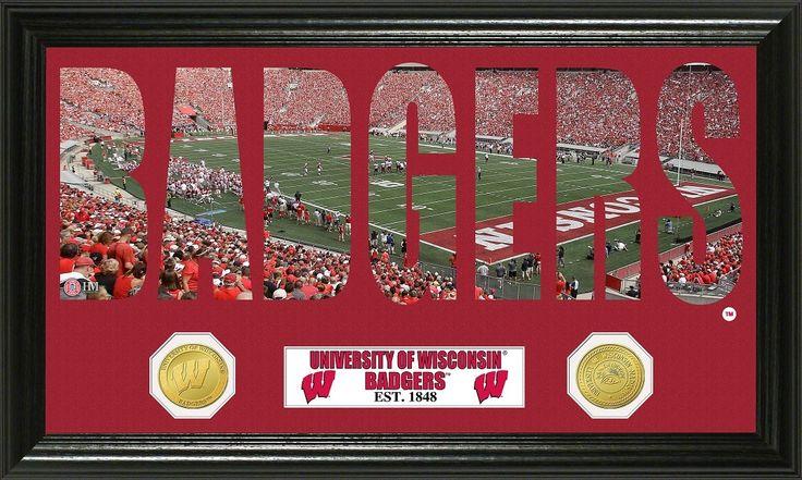 "AAA Sports Memorabilia LLC University of Wisconsin ""Word"