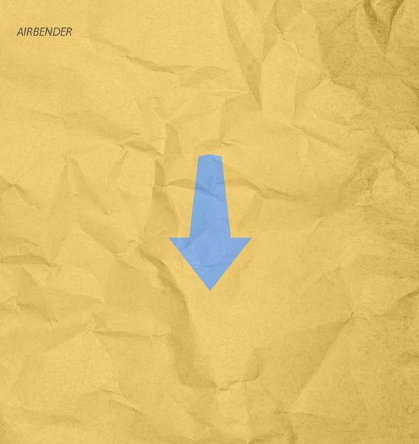 Airbender minimal poster
