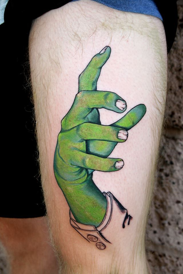 17 best images about zombie tattoo styles on pinterest for Higgins ink tattoo