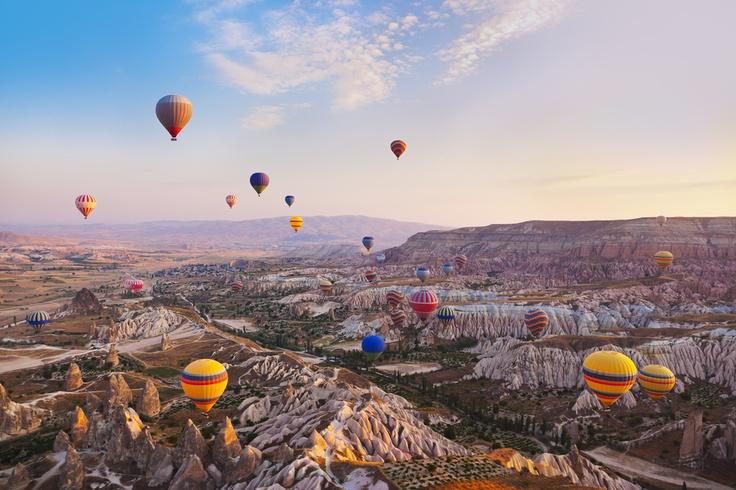 Passeio de balão na Cappadocia