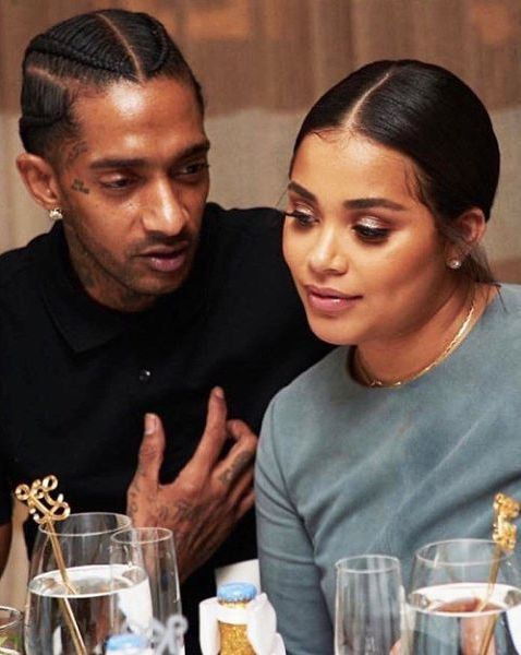 Lauren London Is Unbothered By The Nipsey Hussle On Break Baby Rumors