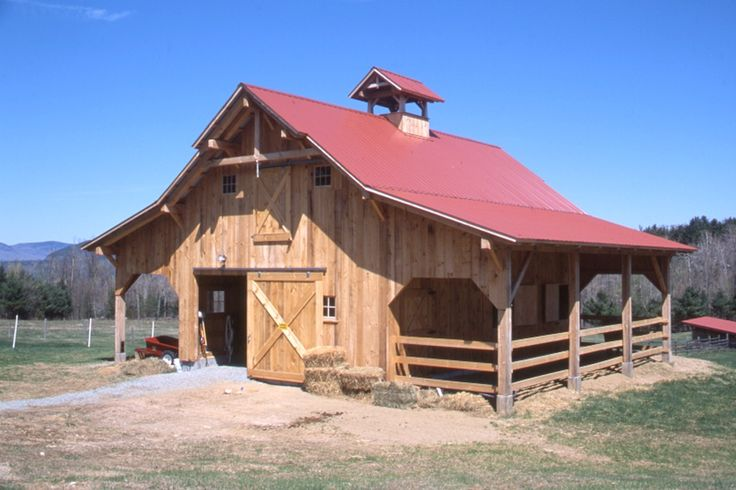 Horse barn-- yes please. Very cute and does not take up very much space.