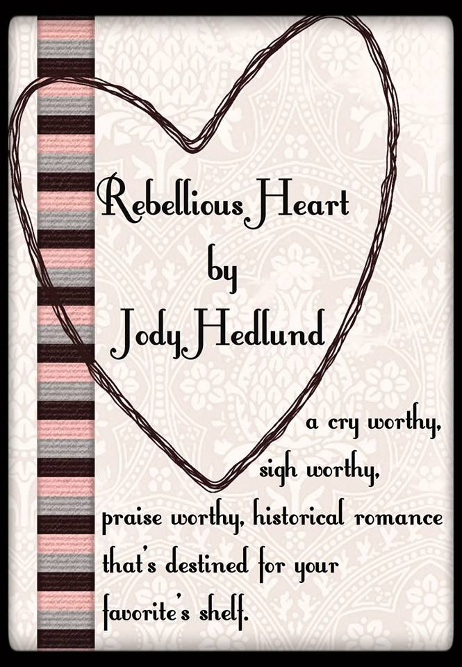 I have such awesome readers!! One dear reader, Jodi Abbot, made this Pin for my new release, Rebellious Heart! I'm blown away by the kind words! Thank you for another Pin, Jodi!
