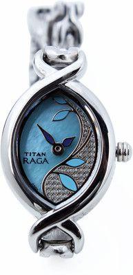 24% OFF on Titan 2251SM01 Raga Analog Watch - For Women