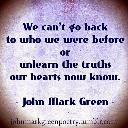the truths our hearts know