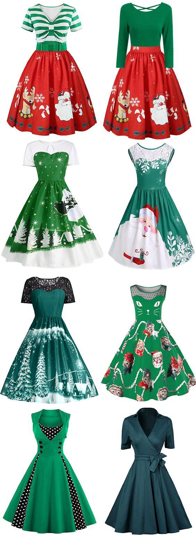 50% OFF Green Vintage Dresses,Free Shipping Worldwide.#vintagedress#dress#green
