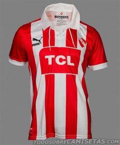 Camisa do Independiente para a disputa da segunda divisão - http://www.colecaodecamisas.com/camisa-do-independiente-para-a-disputa-da-segunda-divisao/