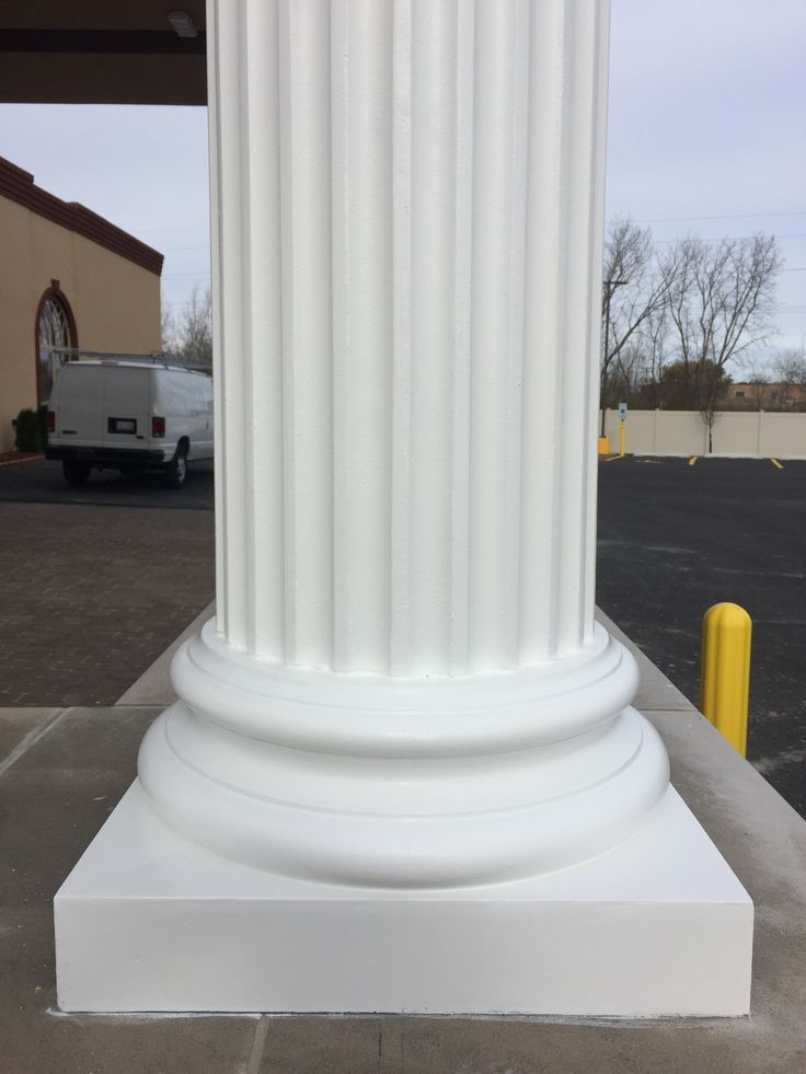Fiberglass Column Caps : Best fluted porch columns images on pinterest