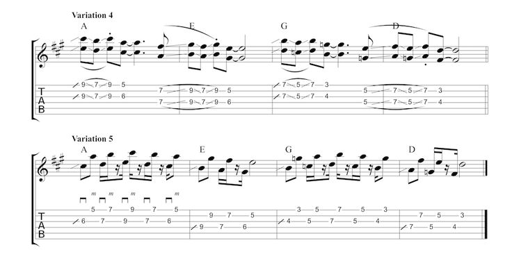 Steve Cropper-Style 6ths In this lesson I want to show you how to use 6ths to create a soul-flavoured, Steve Cropper-style guitar part. I've put together a few fretboard diagrams below showing how I…
