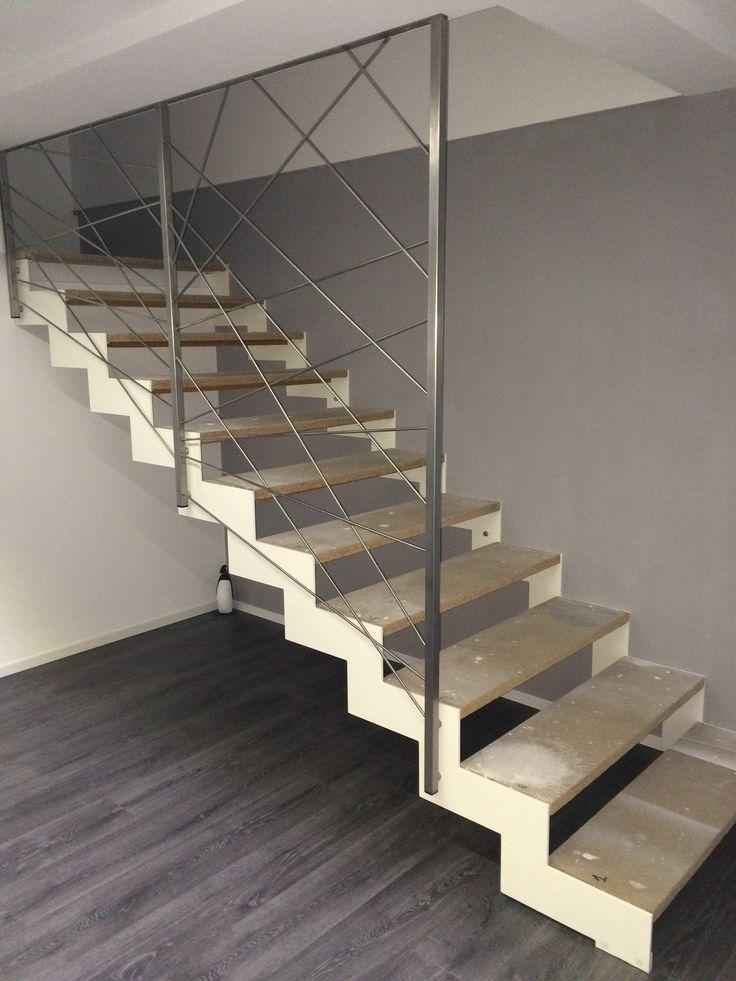 Les 25 meilleures id es de la cat gorie rampe escalier - Rampe escalier inox ...