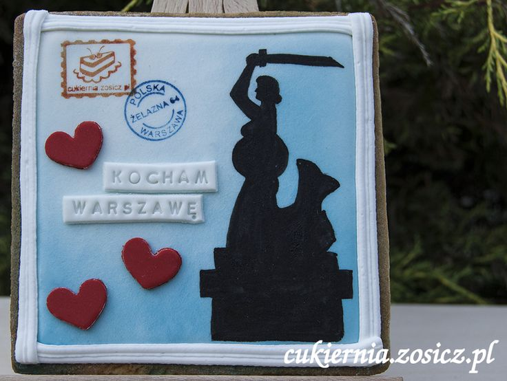 sweet postcard from Warsaw