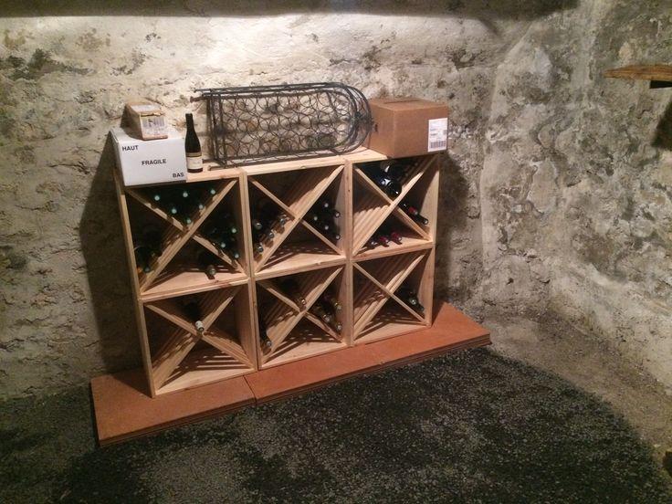 91 best meuble bois cave vin cuisine images on pinterest. Black Bedroom Furniture Sets. Home Design Ideas