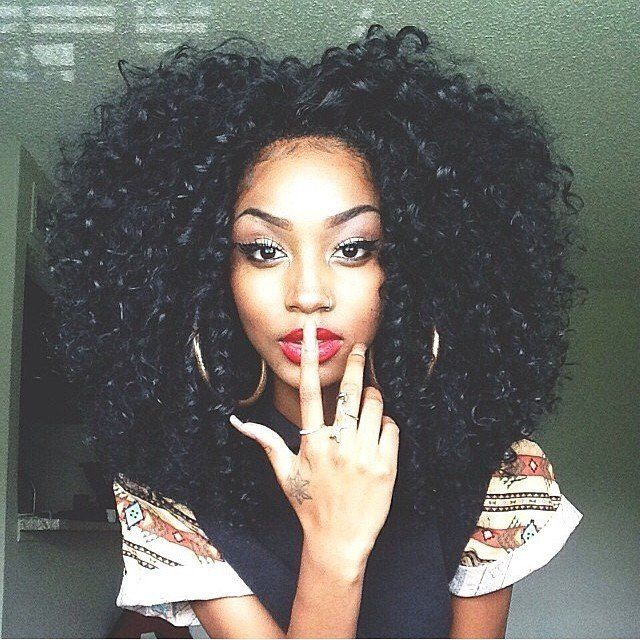crochet braids Looks more like the inspiration for some crotchet braids