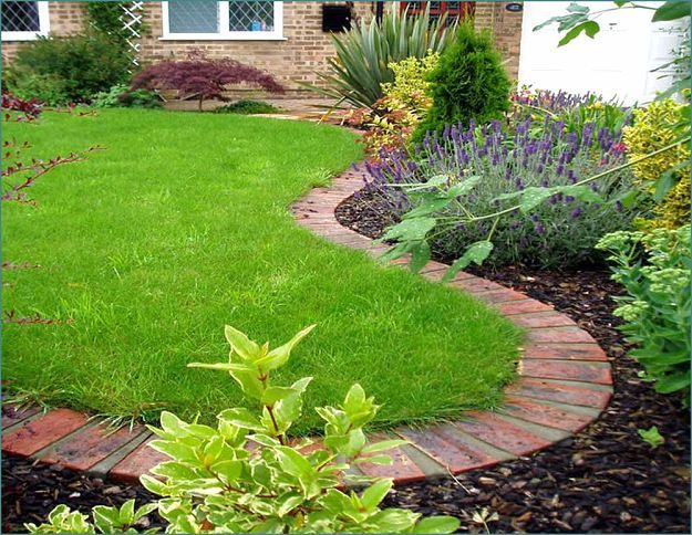 17 best ideas about brick edging on pinterest brick for Brick edging for your flower beds