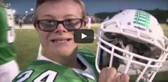 A High School Football Team's Water Boy With Down Syndrome Scores A Touchdown