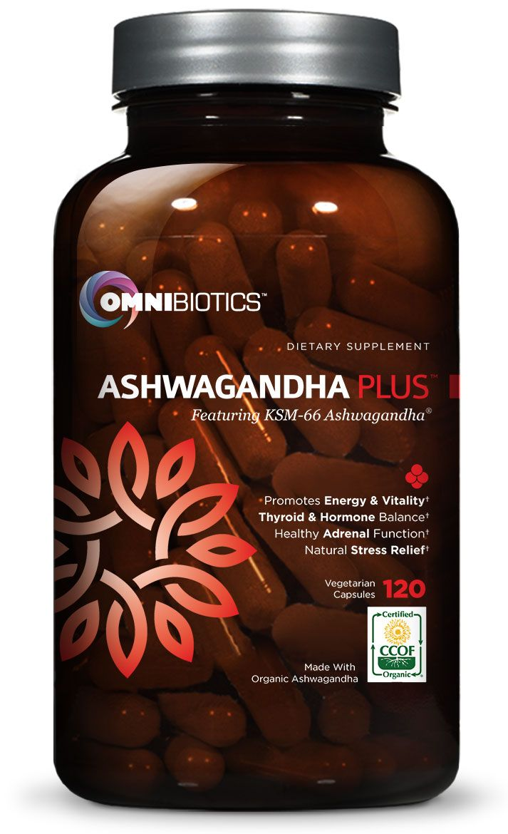 Our NEW Certified Organic Ashwagandha PLUS™ is NOW ON AMAZON