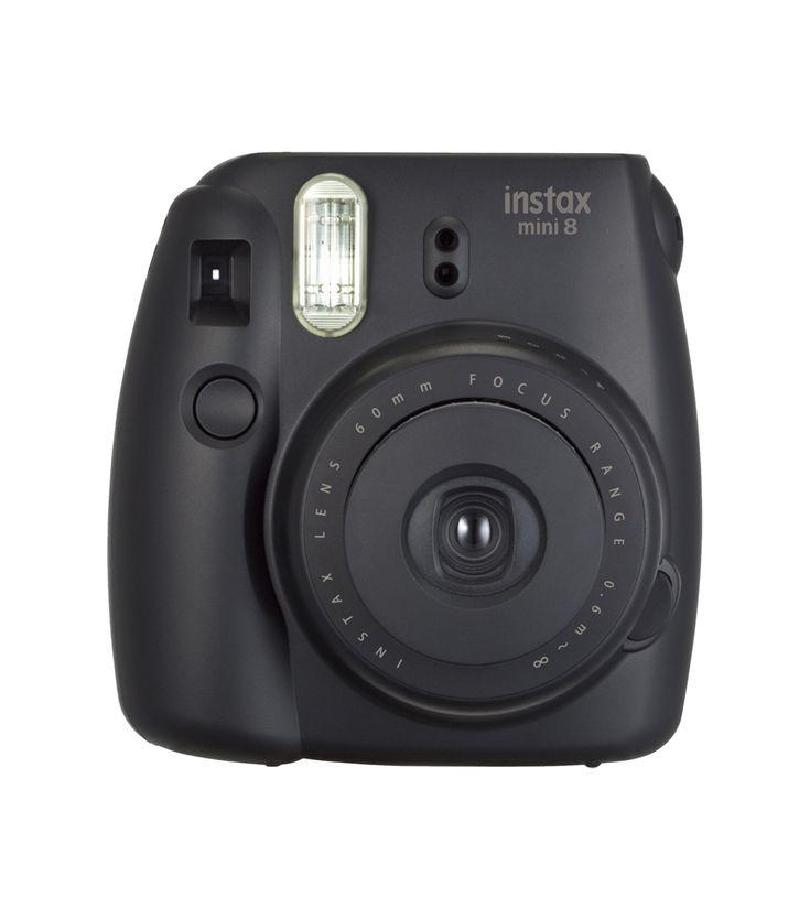 Musthave! De instax camera in tijdloos zwart.