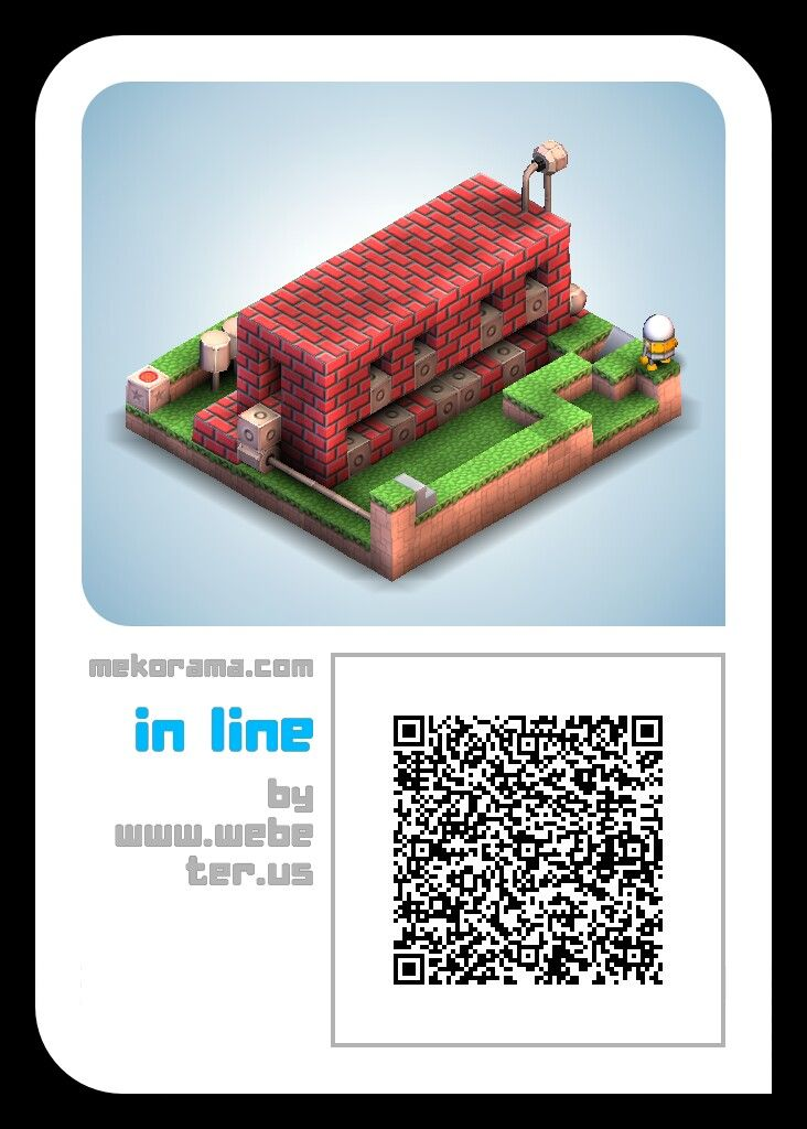 In line a #mekorama game level for fun.