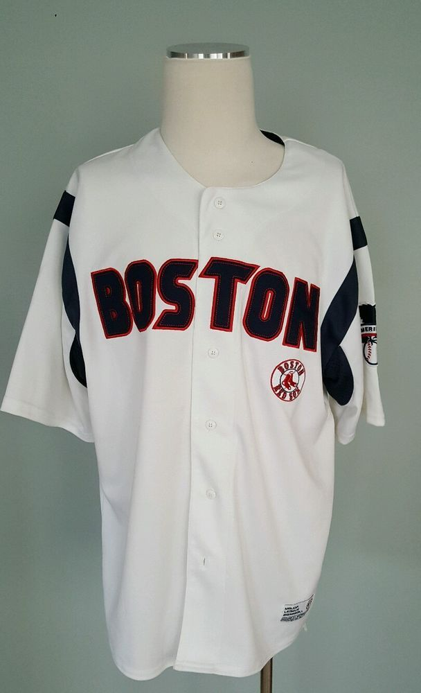 889f38a70 Boston Red Sox XL (40- 42) Adult Jersey MLB Baseball by Dynasty ...