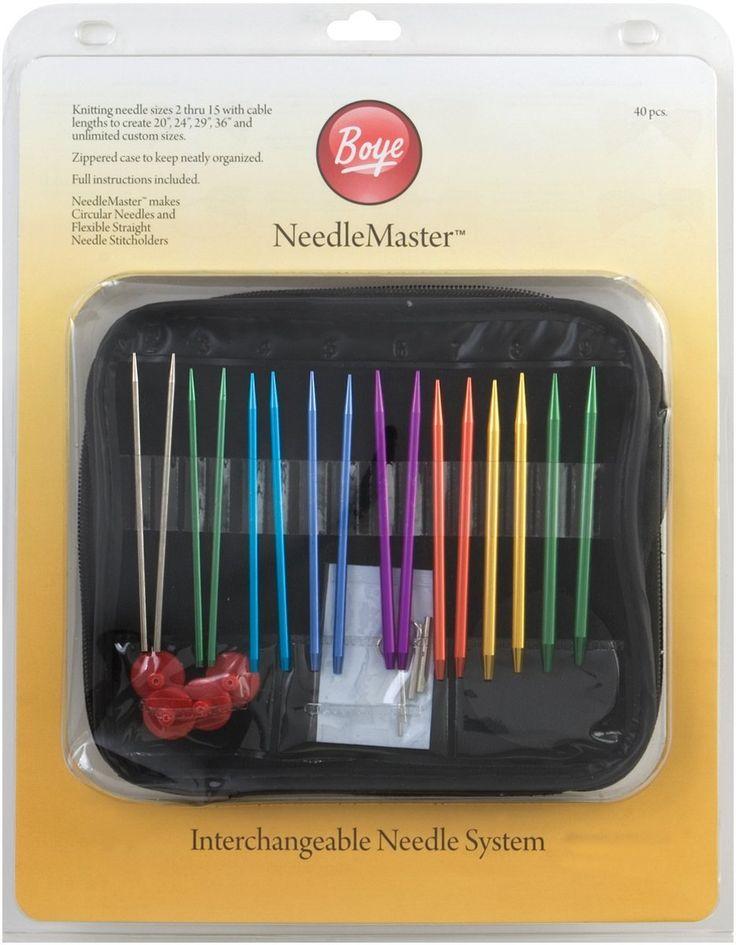 Boye Needlemaster Set