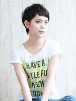 【Luxy】 fantine//short 黒髪大人可愛いベリーショート
