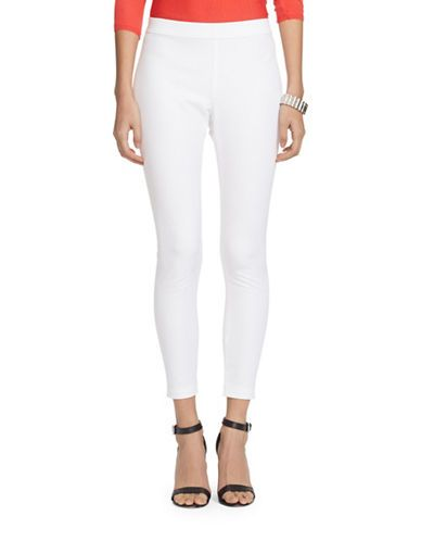 LAUREN RALPH LAUREN Bi-Stretch Twill Leggings