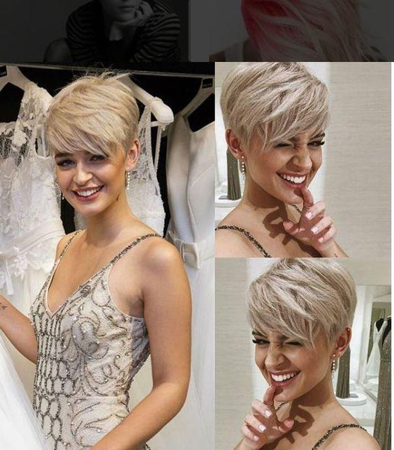 10 Trendy Pixie Hair Cut Pics für Blondinen & Brünetten
