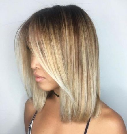 Super Hairstyles Mittellang Glatt Blond 70 Ideas