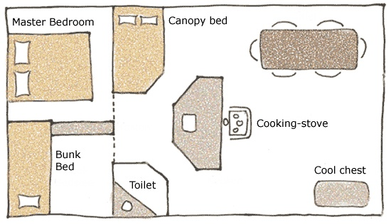 78 best images about cabin floor plans on pinterest for Sleeping cabin plans