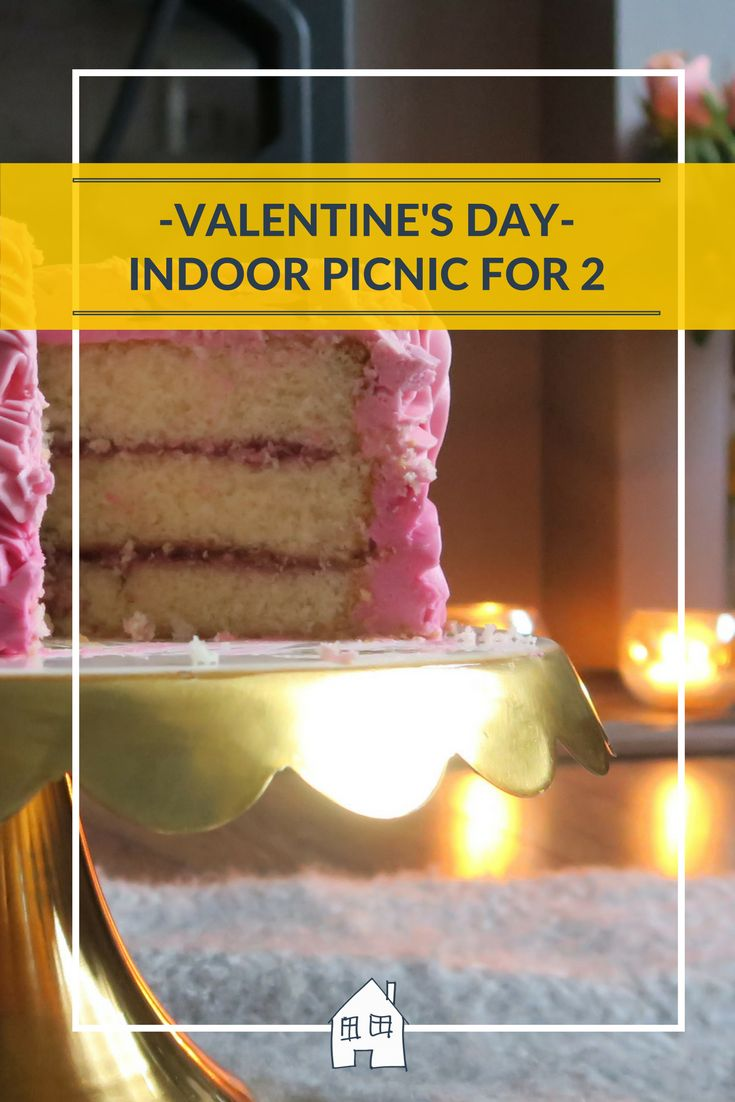 Valentines day but can't go out together, how about a indoor picnic together. Chilling out with some cake and tea for an afternoon tea. Cheap but perfect
