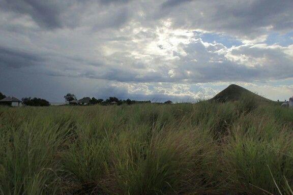 Langit di atas rumput Sumbawa