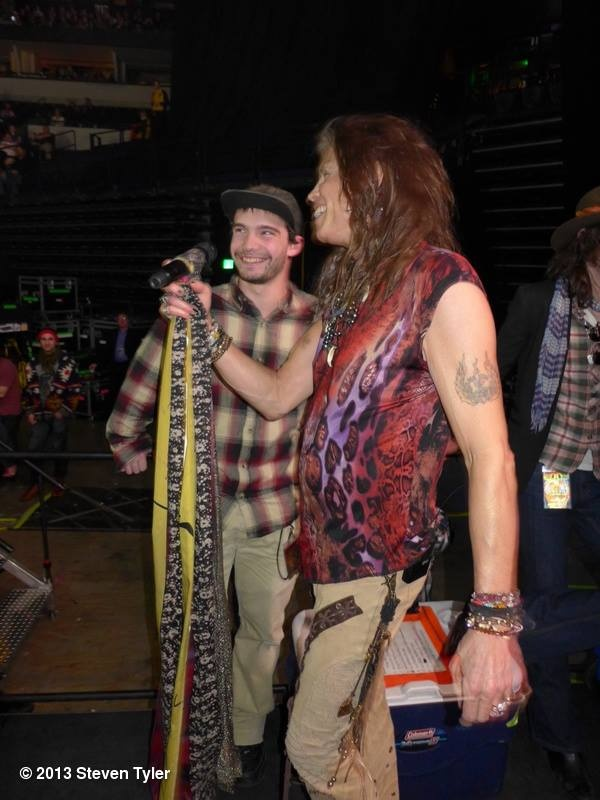 Steven Tyler with son Taj Tallarico