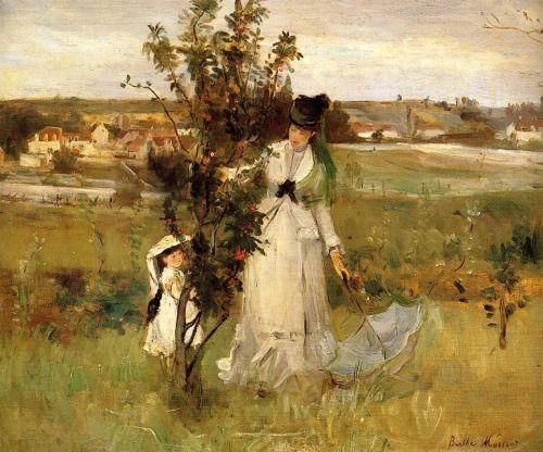 Berthe Morisot - Hide and Seek (1873)