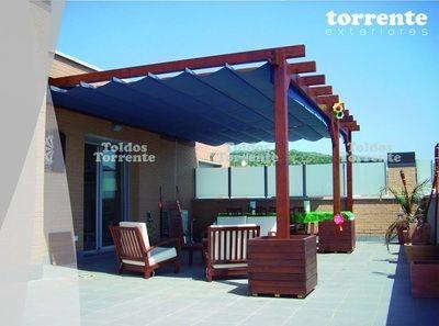 Pérgola madera M2 - Pérgolas Barcelona TE®