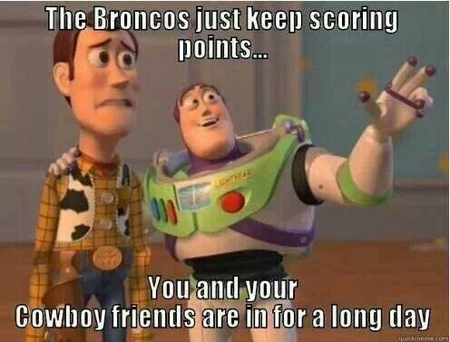 Denver Broncos vs Dallas Cowboys                       51denver-48cowboys