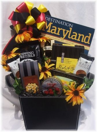 25 best Maryland Theme Gift Baskets images on Pinterest | Gift ...