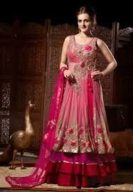 Gorgeous shaded pink anarkali #weddingfashion #pinkbrides #MWP #loveweddingoutfits