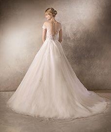 svadobné šaty - model Hairnold