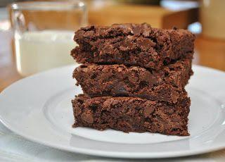 The Dutch Door Kitchen: Decadent Chocolate Chip Brownies