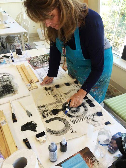 Mark making - Donna Downey