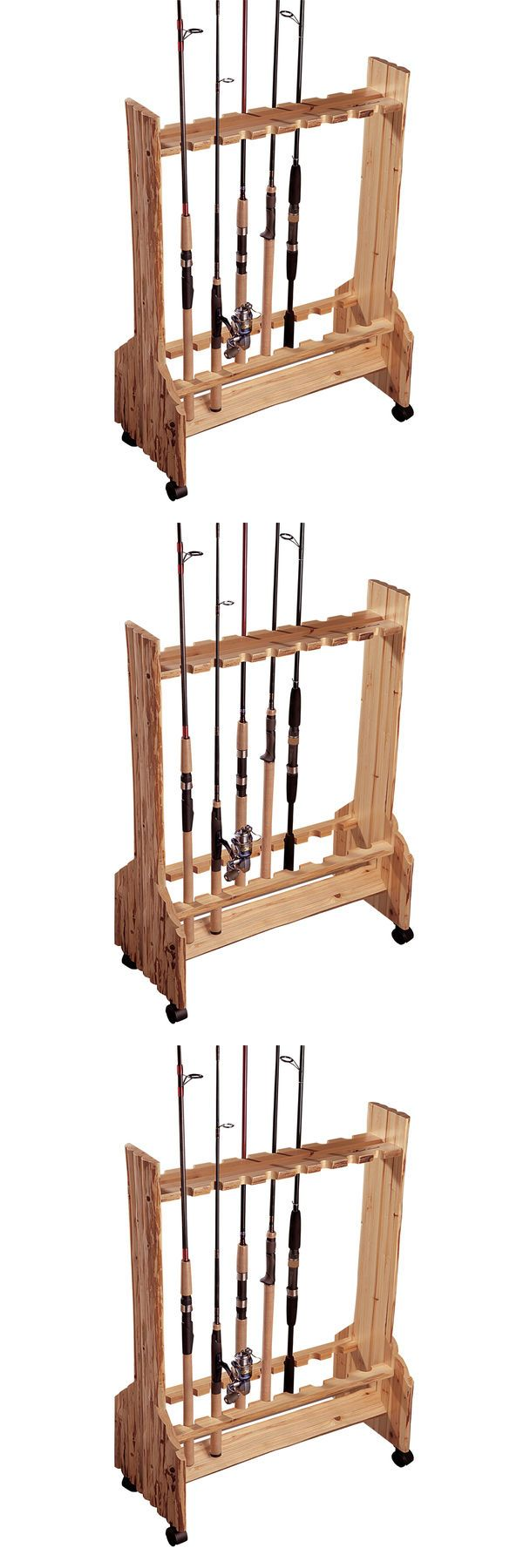 25 beste idee n over fishing rod stand op pinterest for Homemade fishing rod holders for bank fishing