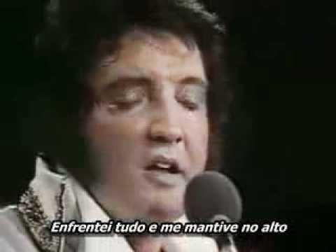Elvis Presley My Way Meu Jeito LIVE AO VIVO Legendada em Portugues Ultim...