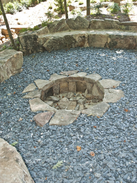 In Ground Fire Pit Design Pictures Remodel Decor And