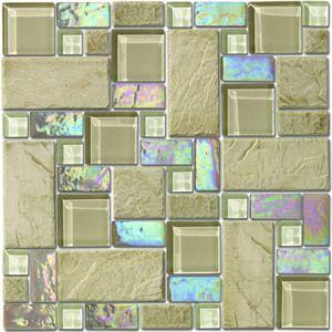 Altto Gl Mosaic Tile Alps Berna Beige 1 Sq Ft Per Sheet 0 0929 M2 11 Sheets Box S0001